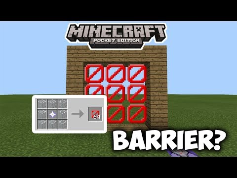 HOW TO OBTAIN BARRIER BLOCKS IN MCPE!? | Minecraft PE