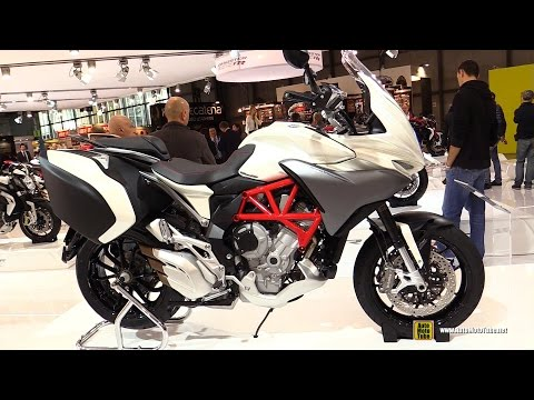 2015 MV Agusta Turismo Veloce 800 Lusso - Walkaround - Debut at 2014 EICMA Milan Motorcycle Exhibiti