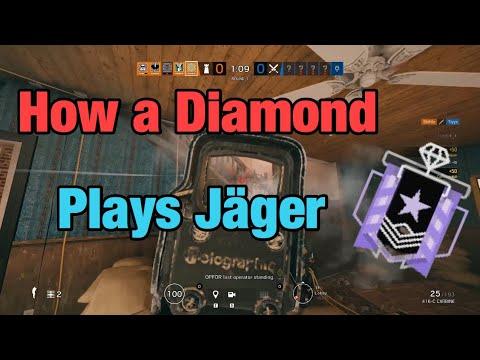 How a Diamond Plays Jäger - Rainbow Six Siege