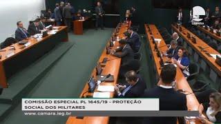 Proteção social dos militares - Reforma da Previdência dos Militares - Votação do parecer do relator - 22/10/2019 13:00