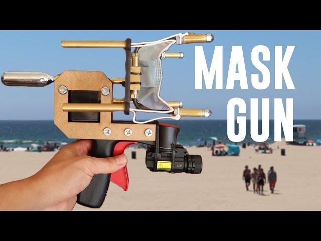 Самодельная пушка издалека наденет маску на любого нарушителя режима
