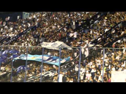 """""""los caudillos del parque vs almirante brown (con vos voy a estar en todas partes)"""" Barra: Los Caudillos del Parque • Club: Independiente Rivadavia"""