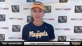 2022 Jasmine Hsiao 4.0+ GPA, Athletic Outfield, Catcher & 3rd Base Softball Skills Video, Ca Nuggets
