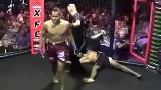 Боец MMA не тронул, но нокаутировал  BADDEST MMA  ММА НОВОСТИ