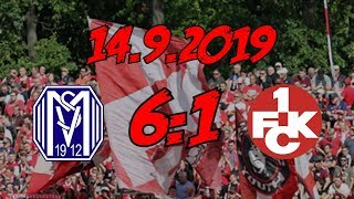 SV Meppen 6:1 1. FC Kaiserslautern   14.9.2019   Das Aus Für Hildmann!