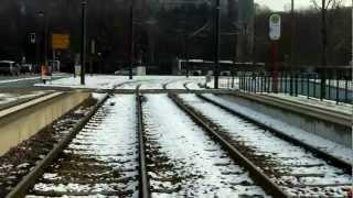 preview picture of video 'Strassenbahn Rundfahrt Durlach/Wolfartsweier (Karlsruhe)'