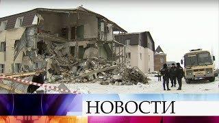 В Красноярске выясняют причины трагедии в трехэтажном жилом доме.