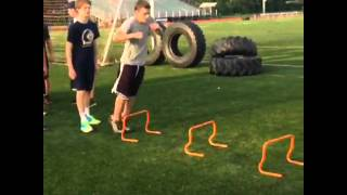 Cardio Hurdles video