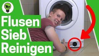 Waschmaschine Flusensieb Reinigen ✅ ULTIMATIVE LÖSUNG: Waschmaschine Pumpt nicht ab? Was tun???