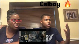 Mom Reacts To Calboy - Envy Me 🔥
