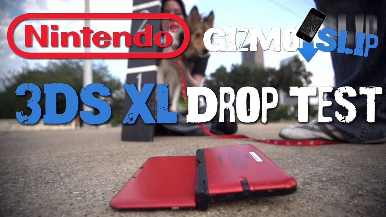 Can A 3DS Survive A Six-Foot Drop?