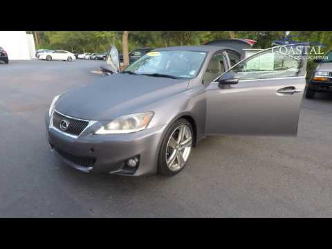 Pre-Owned 2012 Lexus IS 250 4dr Sport Sdn Auto RWD