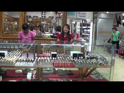 Video Laos Morning Market Watches Store