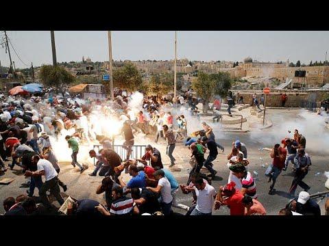 Violentos enfrentamientos en torno a la Explanada de las Mezquitas