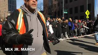 Atlantans Celebrate Martin Luther King Day by Marching
