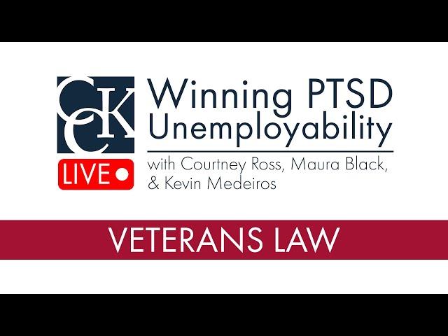 Winning 100% VA Unemployability for PTSD: TDIU