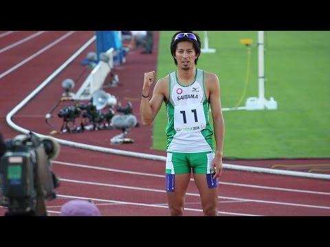 和歌山国体 成年男子100mは藤光!!