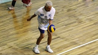 Amazing Old People Skills in Volleyball (HD)