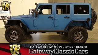 2016 Jeep Wrangler Unlimited Rubicon #319-DFW Gateway Classic Cars of Dallas