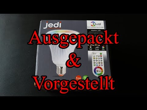 Jedi Lighting iDual G100 E27 ID75 [Ausgepackt & Vorgestellt]