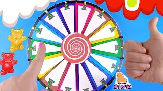 ЛИЗУН ЧЕЛЛЕНДЖ с Подлянчиком и Желейным Медведем! Mystery Wheel Slime Challenge Satisfying