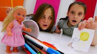 Игры с куклами Барби - Штеффи проказничает! – Смешные видео.