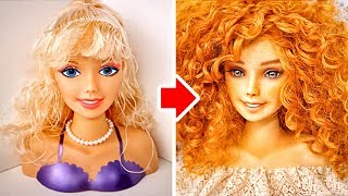 3 COOL TRANSFORMATIONS FOR BARBIE AND MONSTER DOLLS