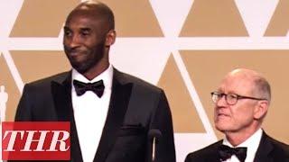 Kobe Bryant & Glen Keane On Winning Best Animated Short Film For Dear Basketball | Oscars 2018