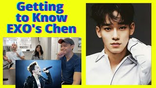EXO (엑소)   A GUIDE TO EXOS CHEN   Reaction Video By Reactions Unlimited