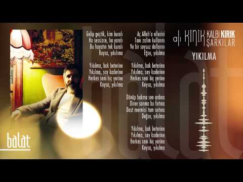 Ali Kınık – Yıkılma (Official Lyric Video)