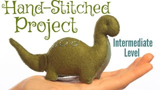 HOW TO HAND STITCH FELT ANIMALS