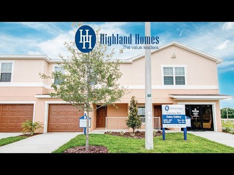 Merlot townhome by Highland Homes - Gibsonton New Homes for Sale