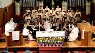 """""""Up from the Grave He Arose"""" at First United Methodist Church Gainesville"""