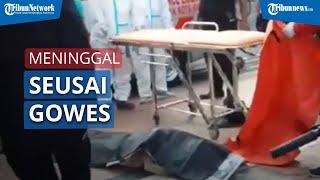 Seorang Pria Meninggal Dunia saat Gowes Keliling Surabaya Bersama 17 Orang Teman-Temannya