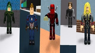 Roblox Superhero Costume Codes 2!
