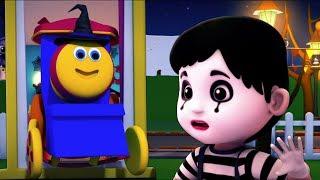 Bob le train Halloween chanson pour enfants Joyeux Halloween comptines Bob Train Halloween Song
