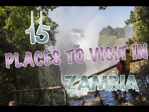 Amazing Places to Visit in Zambia