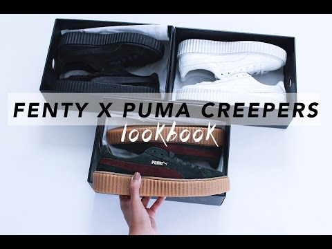 Rihanna's FENTY X PUMA Creepers    LOOKBOOK