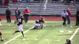 preview picture of video 'Charlie Buchanan #6 WR Port Allegany Gators 2011 Season - 12th Grade'