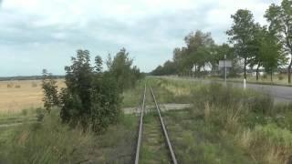 preview picture of video 'ŻKD Żuławska Kolej Dojazdowa Nowy Dwór Gdański - Prawy Brzeg Wisły'