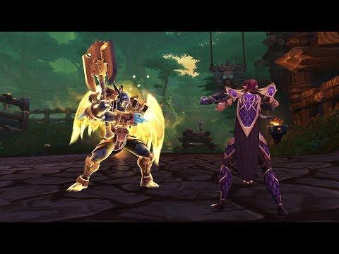 World of Warcraft Devs Preview Zandalari Trolls & Kul Tiran Human Allied Races