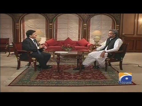 Hamid Mir Exclusive Interview with Shahid Khaqan Abbasi in Capital Talk