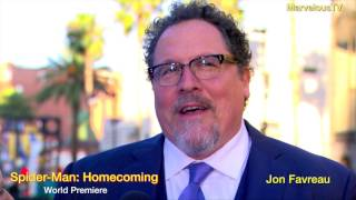 Jon Favreau arrives at Spider Man  Homecoming world premiere
