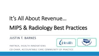 Radiology & the MACRA Final Rule