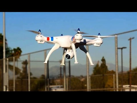 Syma X8W Quadcopter Drone w/ wifi Feature Review