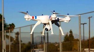 Syma X8W Quadcopter Drone w/ wifi Feature Review