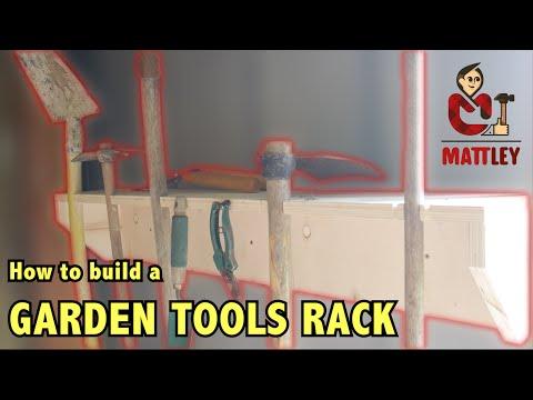 Come costruire un porta attrezzi da giardino fai da te