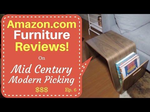 Amazon.com Furniture Reviews! – Mid Century Modern Picking – Ep. 6