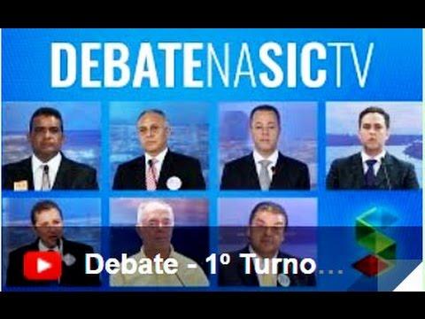 #DebateNaSICTV  do 1º turno - Bloco 1 - Gente de Opinião