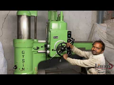 Gysin Radial Drilling and Tapping Machine
